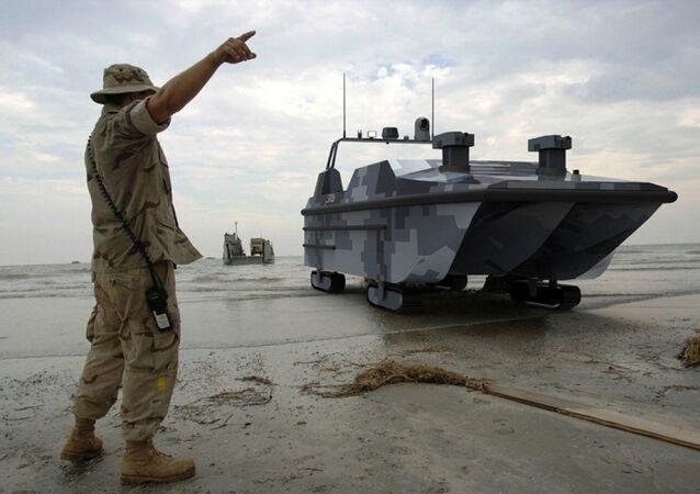 Marine Lizard stealth drone