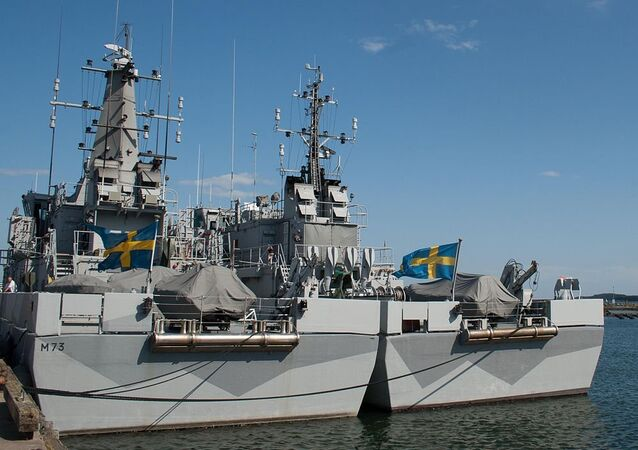 Ships at Berga Naval Base, Sweden