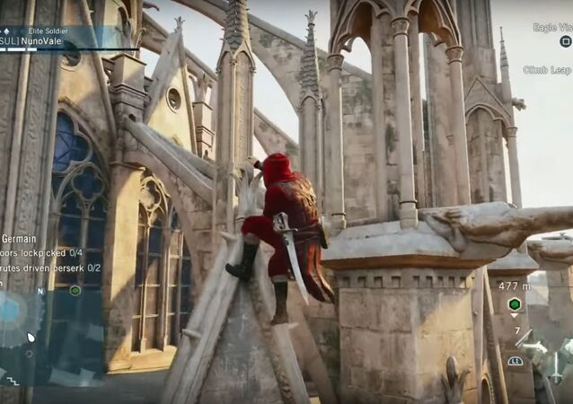 Notre Dame - Exploring in Assassin's Creed® Unity