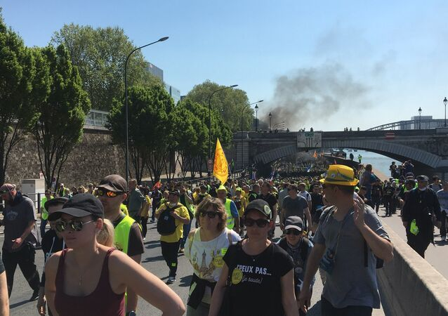 23 week of Yellow Vests protests. 20 April 2019