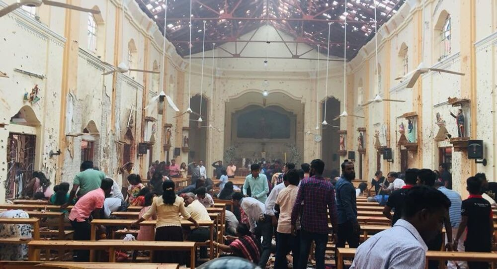 St.Sebastian's Church,Katuwapitiya,Negombo,Sri Lanka.