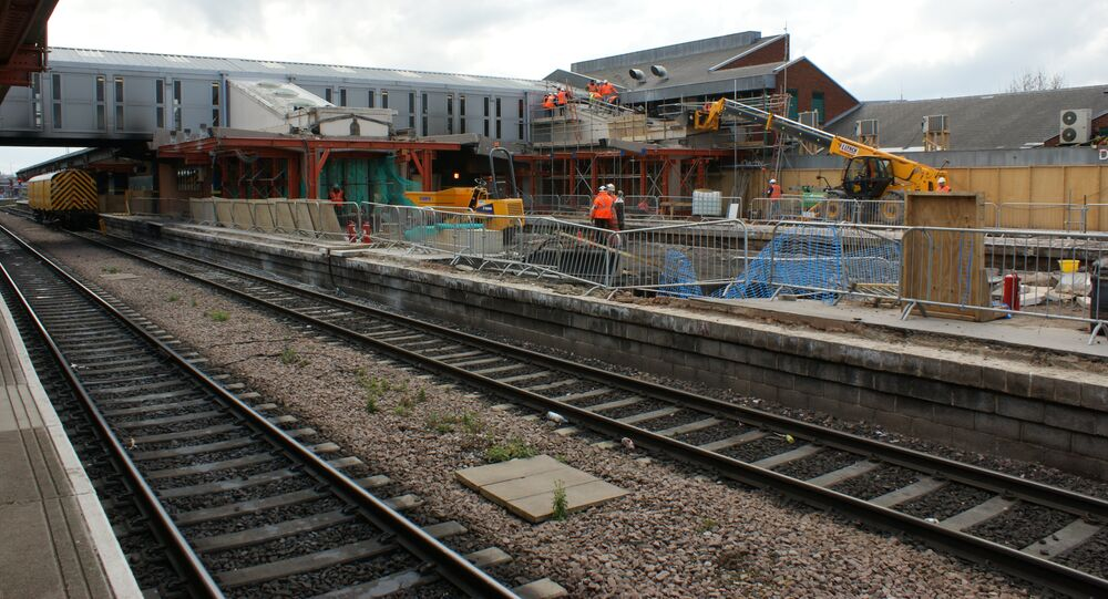 A train road in Derby (file photo).