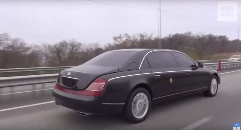 North Koreas Kim Jong-un-s Limo Allegedly Drives in Vladivostok