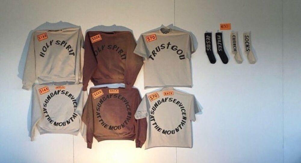 Kanye West's 'Sunday Service' merchandise