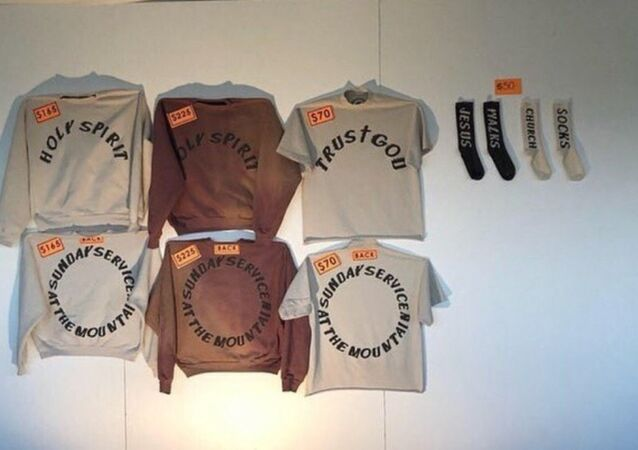 Kanye West's 'Sunday Service' merchandise