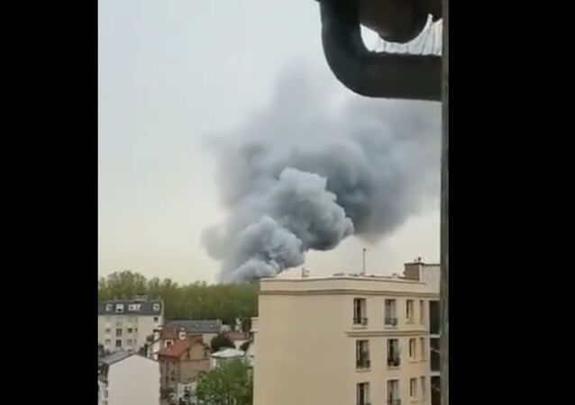 Fire in Versailles