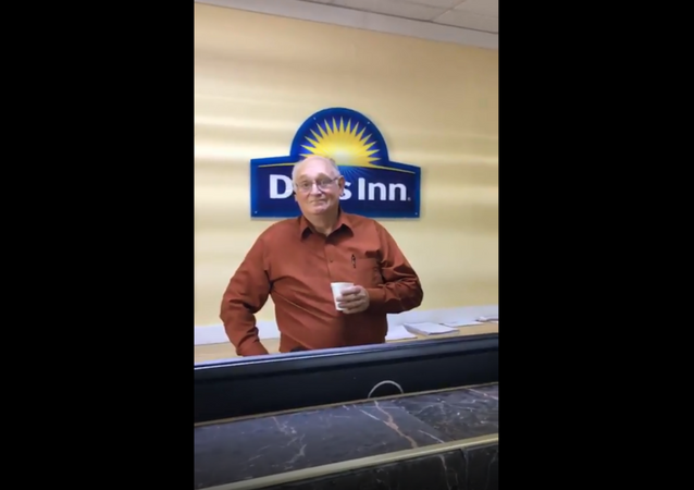 Hotel clerk from a Virginia Days Inn gets fired after verbally harassing a customer who grabbed a yogurt from a food bar.