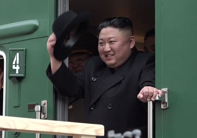 The leader of the DPRK Kim Jong-un arrived in Russia