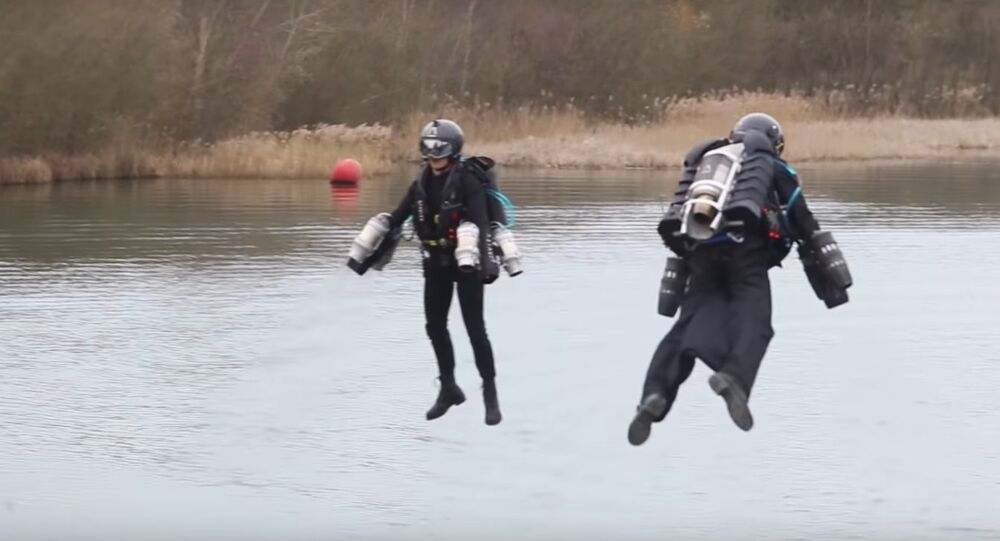 FPV Jet Suit Flight - Race Series Progression