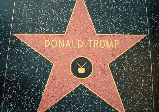 Donald Trump star, Hollywood Walk of Fame
