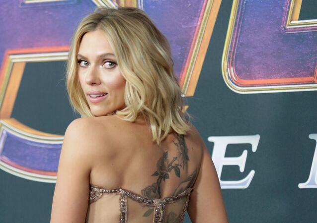 Cast member Scarlett Johansson at the world premiere of movie Avengers: Endgame in Los Angeles, California, U.S., April 22, 2019