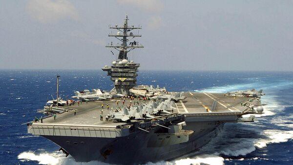 USS Eisenhower - Sputnik International