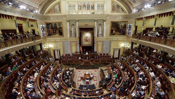 Lower House of the Spanish Parliament in Madrid (File) - Sputnik International