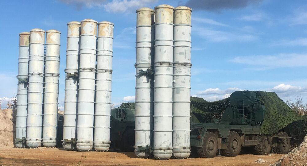 Russian S-400 Triumph missile system