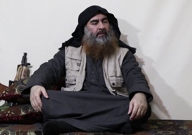 Alleged photo of Daesh leader Abu Bakr al-Baghdadi