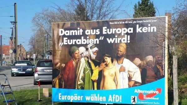 Alternative fo Germany party' poster on Twitter (@alessio_spataro) - Sputnik International