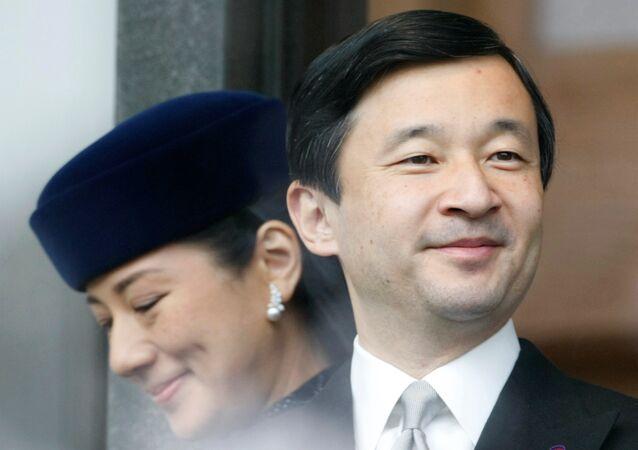 Japan's Crown Prince Naruhito and his wife, Crown Princess Masako