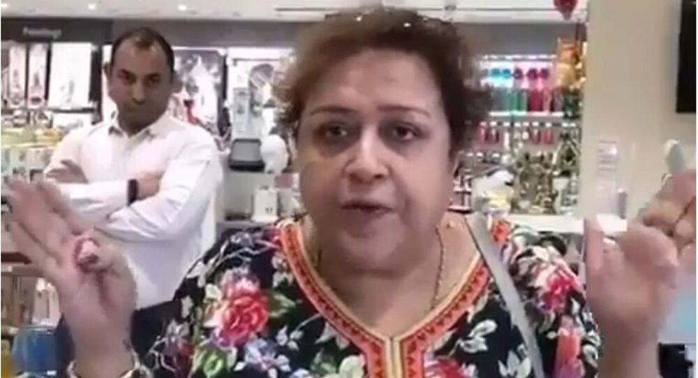 A video in which a middle-aged woman gets accosted after pointing out to some young girls in New Delhi that their dresses were too revealing for a public place has gone viral on social media
