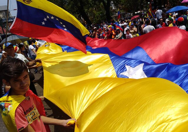 Labour Day Demonstration in Caracas