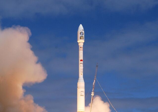 Orbital Sciences Corporation and the Republic of China's National Space Program Office successfully launched a Taurus XL rocket 20 May 2004, from launch pad 576E on North Vandenberg from Vandenberg Air Force Base in California. The rocket carries the ROCSAT-2 remote sensing satellite. Its mission is to observe and monitor the terrestrial and marine environment and natural resources throughout Taiwan, its remote islands and surrounding ocean for civil applications.