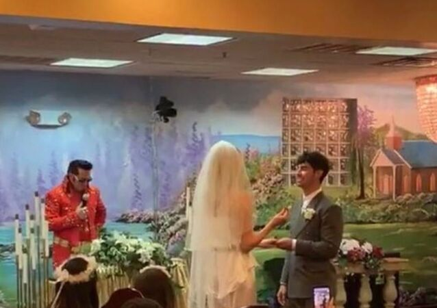 Joe Jonas and Sophie Turner Got Married in Las Vegas