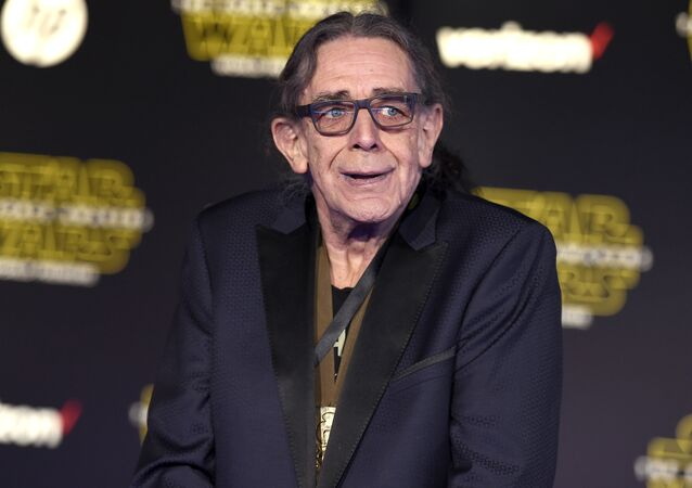 Peter Mayhew arrives at the world premiere of Star Wars: The Force Awakens at the TCL Chinese Theatre on Monday, Dec. 14, 2015, in Los Angeles.