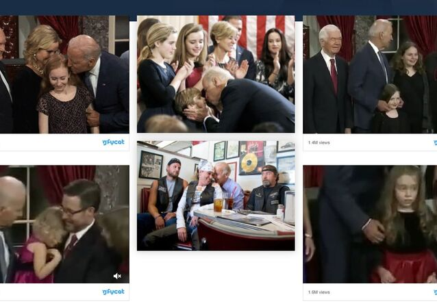 """A realistic-looking parody site featuring images of Biden touching women and children appears to be doing quite well on Google and other major search engines, particularly for the search """"Biden 2020 website."""""""