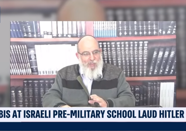 Rabbi at West Bank Pre-Military School Lauds Hitler