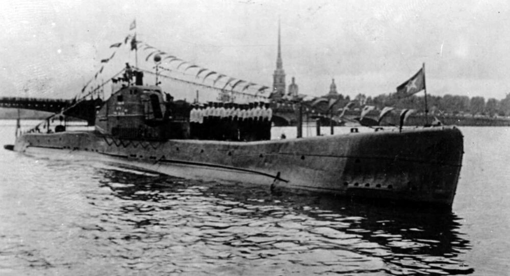 Soviet Submarine Shch-324 in Leningrad, built in 1935, in service since 1936, blew up and drown in the Gulf of Finland in 1942