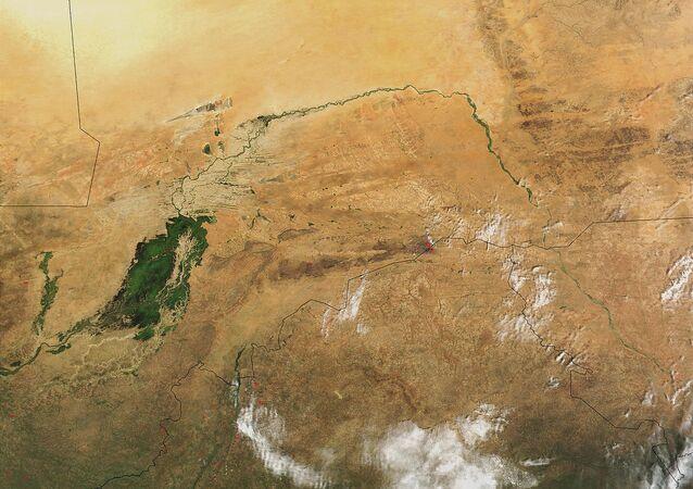 NIGER RIVER IN MALI