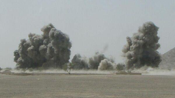 An airstrike in Afghanistan  - Sputnik International