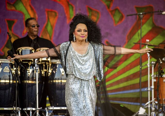 Diana Ross performs at the New Orleans Jazz and Heritage Festival on Saturday, May 4, 2019 in New Orleans