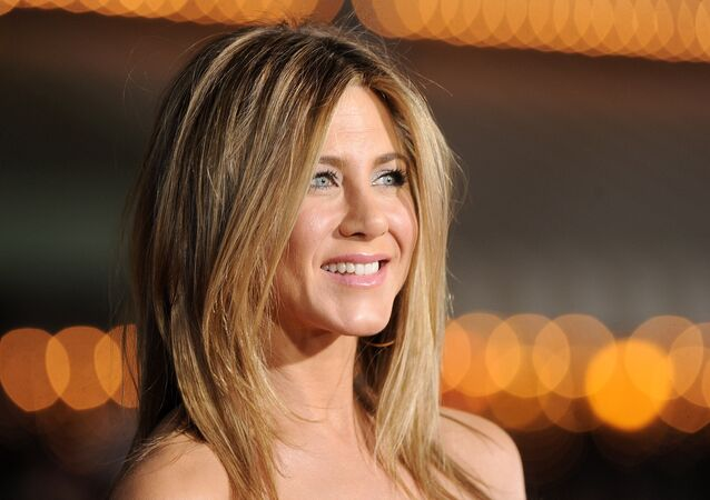 Actress Jennifer Aniston arrives at the premiere of Universal Pictures' Wanderlust held at Mann Village Theatre on February 16, 2012 in Westwood, California.