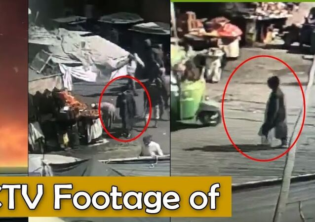 CCTV Footage of Suicide Blast Near Data Darbar Shrine in Lahore