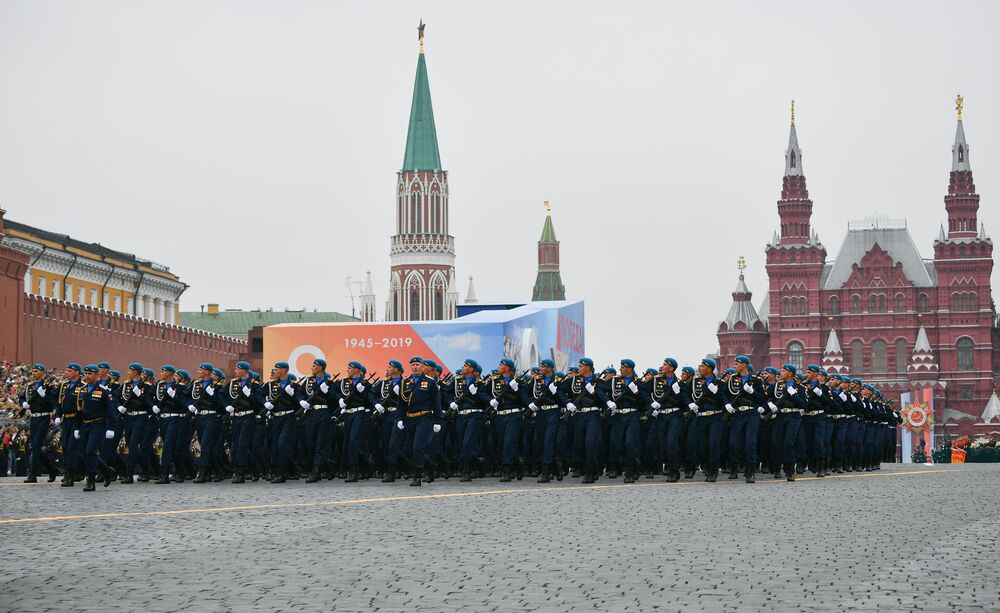Victory Day Parade at the Red Square in Moscow