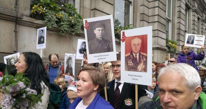 2019 Immortal Regiment march in London