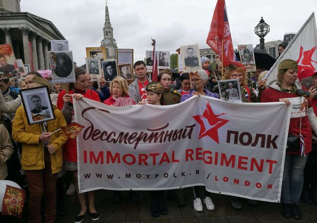 2019 Immortal Regiment march in London
