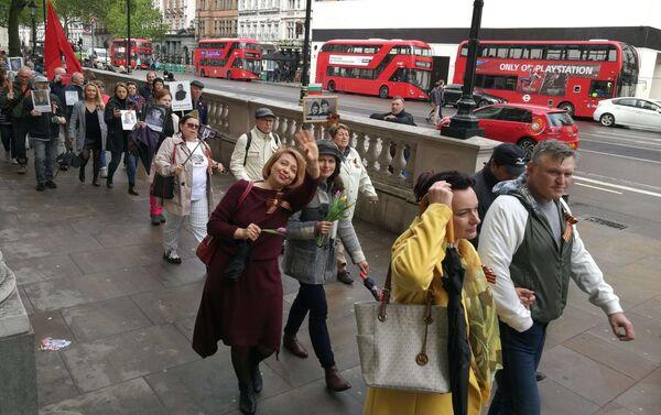 2019 Immortal Regiment march in London - Sputnik International