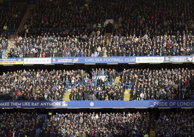 Stamford Bridge stadium in London, Sunday, Nov. 11, 2018