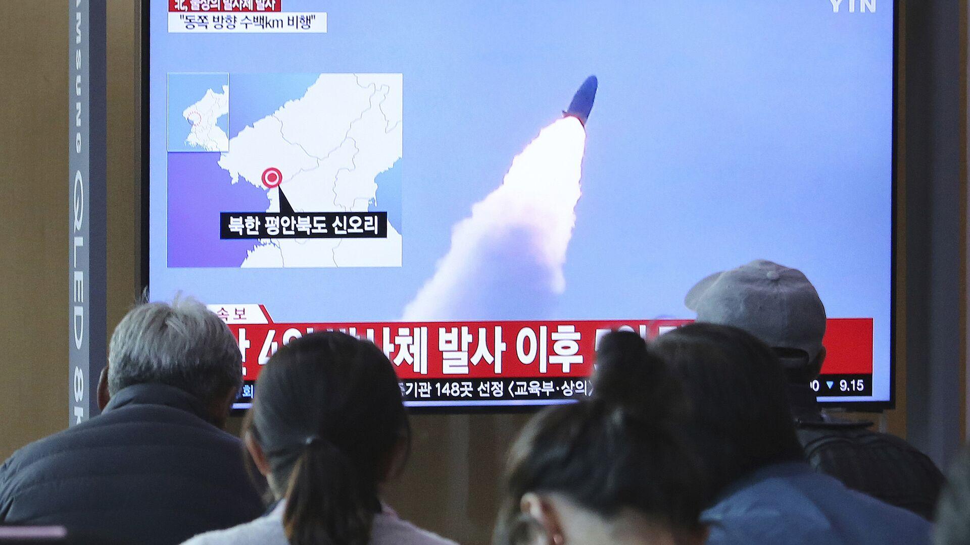North Korean missile launch - Sputnik International, 1920, 15.09.2021
