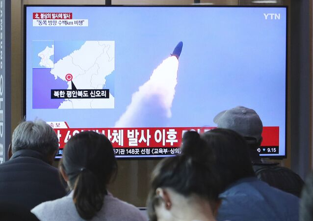 North Korean missile launch