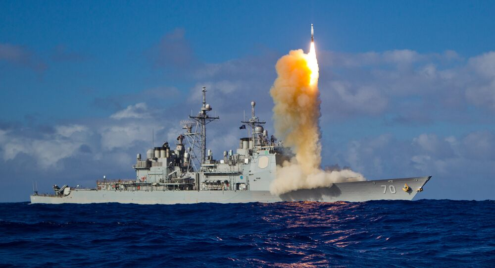 Pentagon says it shot down unarmed missile in sea-based test