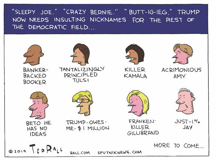 Trump's Name Game
