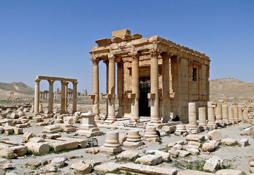 Temple of Baalshamin in Palmyra, Syria