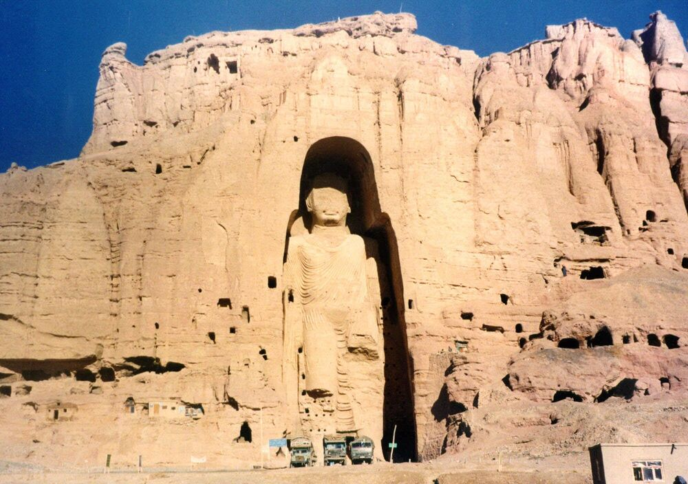 Buddha Statues That Once Stood in the City of Bamiyan