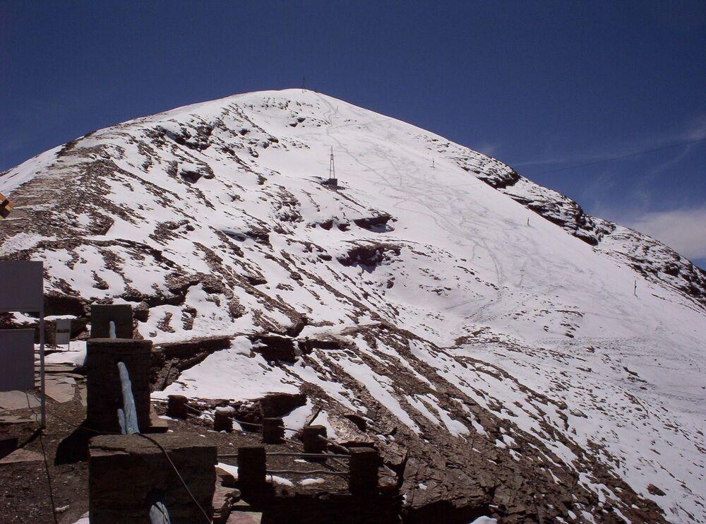 Bolivia's Chacaltaya Glacier