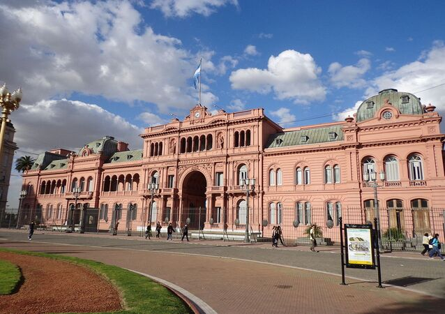 Casa Rosada, Office of President of Argentina in Buenos Aires