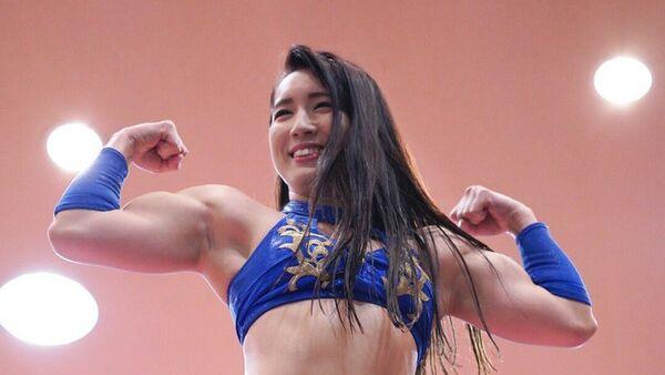Japan's Wrestler and Idol Reika Saiki Shows Off Her Ripped Biceps in Workout Videos - Sputnik International