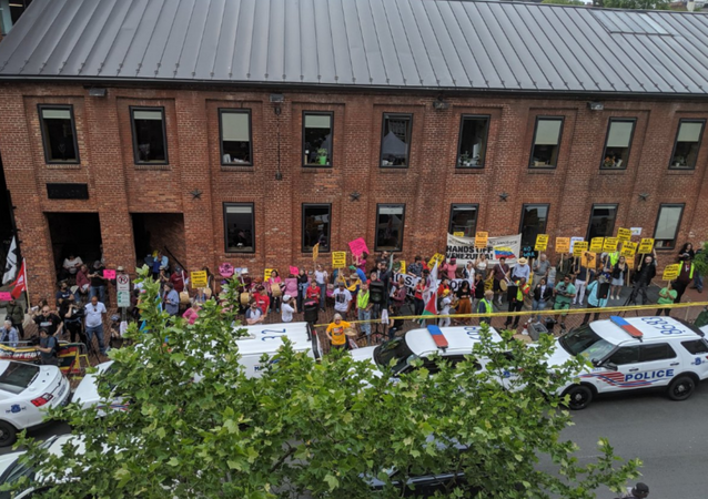 Activists Protecting Venezuelan Embassy in US Prepare for Unlawful Eviction