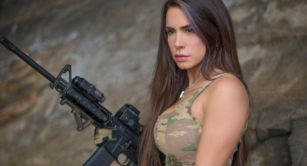 "Orin Julie, also known on social media as ""The Queen of Guns,"" is a veteran of the Israel Defense Forces (IDF), and believes that the US has the best gun laws in the world."